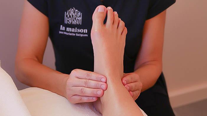 Massage Relaxation Pieds en apesanteur - La maison par Murielle Salgues