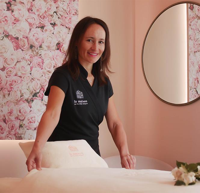Massage la maison par Murielle Salgues