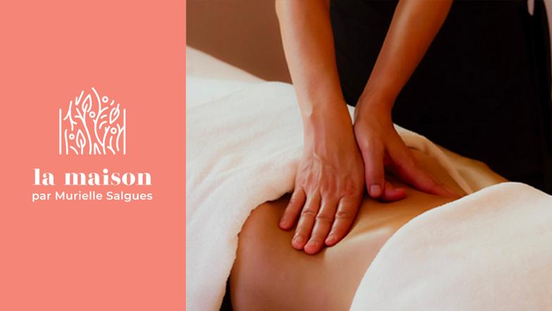 Bon cadeau Massage la maison par Murielle Salgues